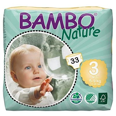 Bambo Nature Eco-Friendly Diapers for Sensitive Skin